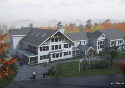 Computer render of IHM School Expansion project.