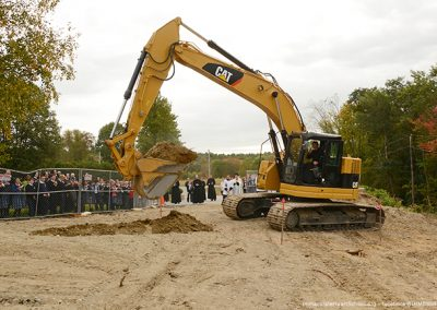 Brothers MICM break ground for the IHM School Expansion.