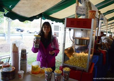 Popcorn booth at IHM Bazaar