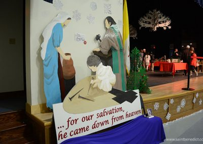 Nativity display