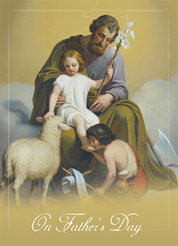 St Joseph & Lamb of God