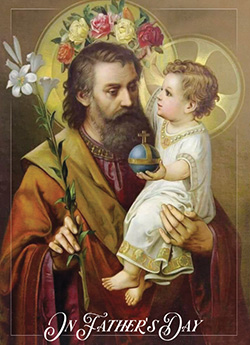 Child Jesus Crowns St. Joseph