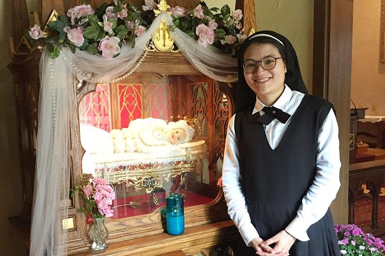 Postulant on September 8