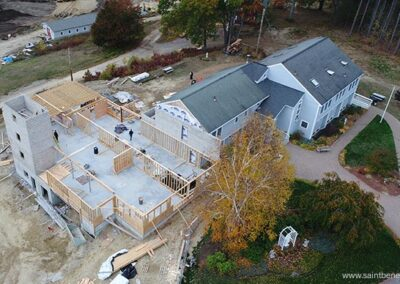 Bird's eye view of IHM Expansion Project