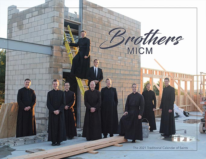 Brothers MICM 2021 Calendar