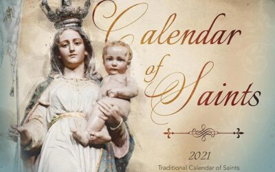 2021 Calendar of Saints!