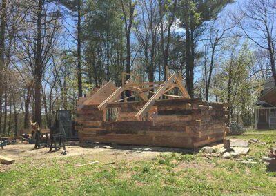 Sugar shack construction