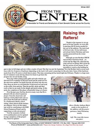 From the Center 2021 Newsletter