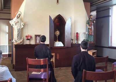 Adoration in Ave Maria