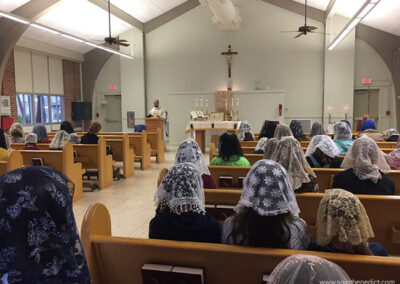 Opening Mass on February 11