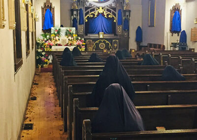 Sisters Watch and Pray on Good Friday
