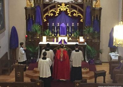 IHM Chapel on Palm Sunday