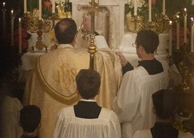 Altar of Repose in IHM Chapel