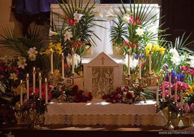 Good Friday Altar of Repose