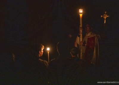 Lumen Christi! Light of Christ
