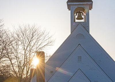 Easter sunrise over IHM Chapel