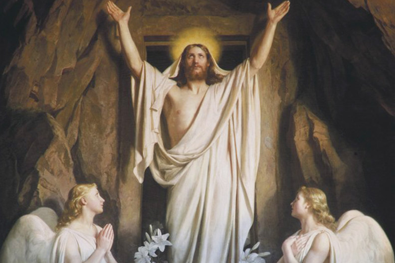 Easter greetings and prayers from Saint Benedict Center