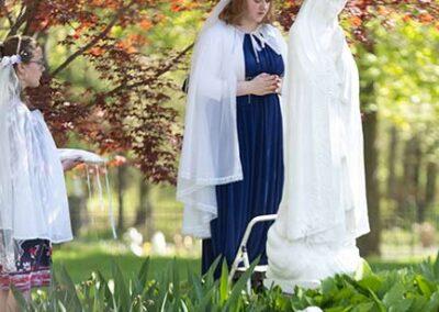 IHM Senior crowns Our Lady of Fatima