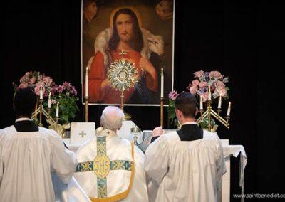 Benediction in MacIsaac Hall