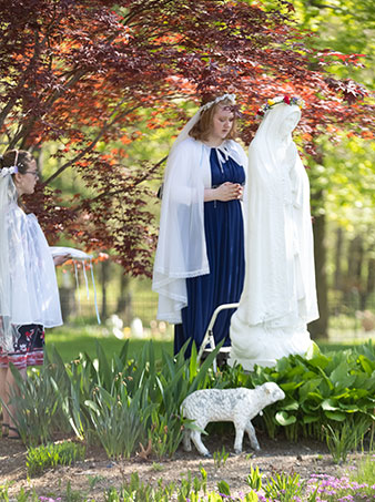 May devotions at Saint Benedict Center