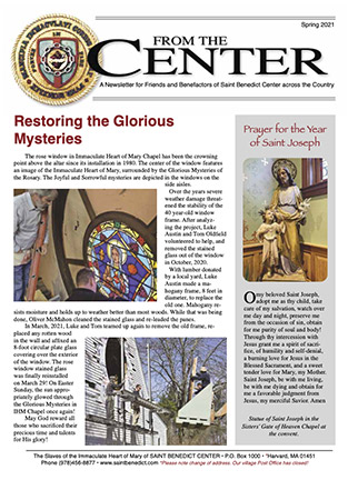 Click the link below to read the Spring 2021 Newsletter
