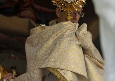 Blessed Sacrament in Procession