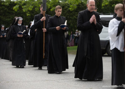 Brothers MICM in Corpus Christi Procession
