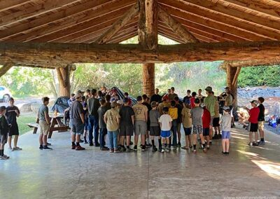 Montfort Camp in Idaho begins