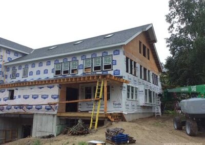 Exterior work on IHM Expansion