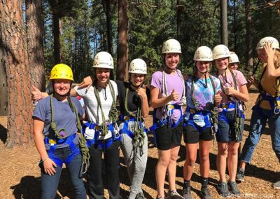 Ready for the Ropes Course at Ross Point